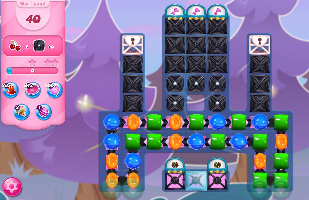 Candy Crush Saga level 8488