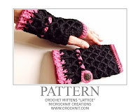 crochet patterns, mittens, fingerless, gloves,