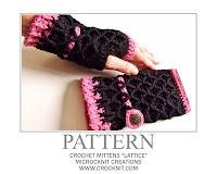crochet patterns, mittens, fingerless, gloves,