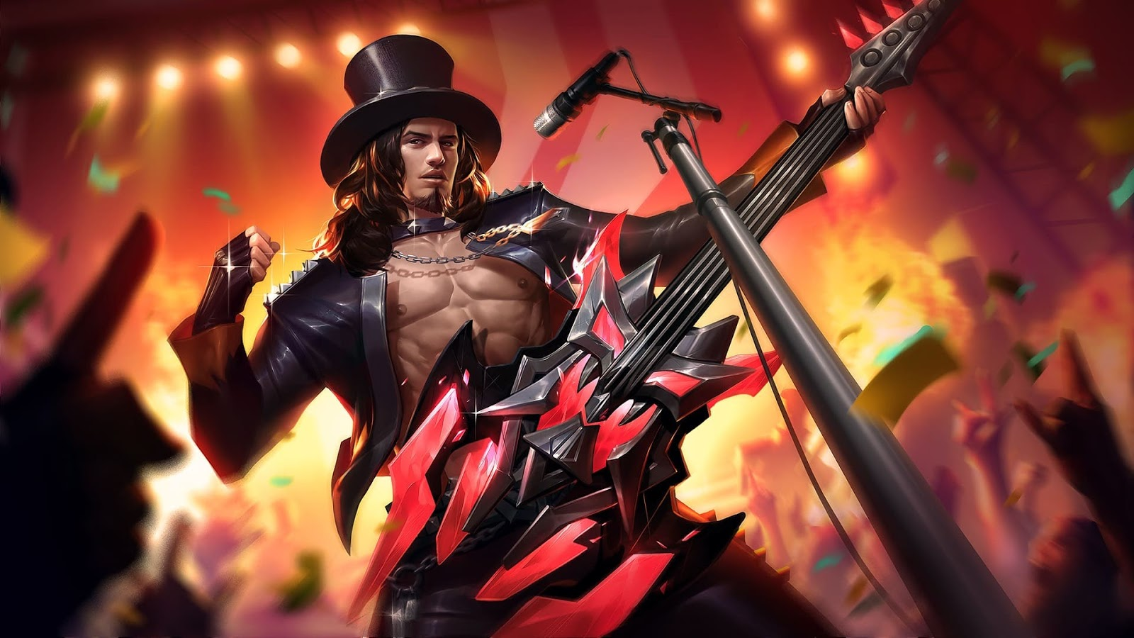 Wallpaper Clint Rock and Roll Skin Mobile Legends HD for PC