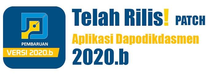 Download Aplikasi Dapodikdasmen 2020.b
