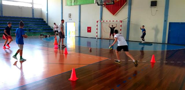Το Wolfaki Summer Camp συνεχίζει με περισσότερο χάντμπολ