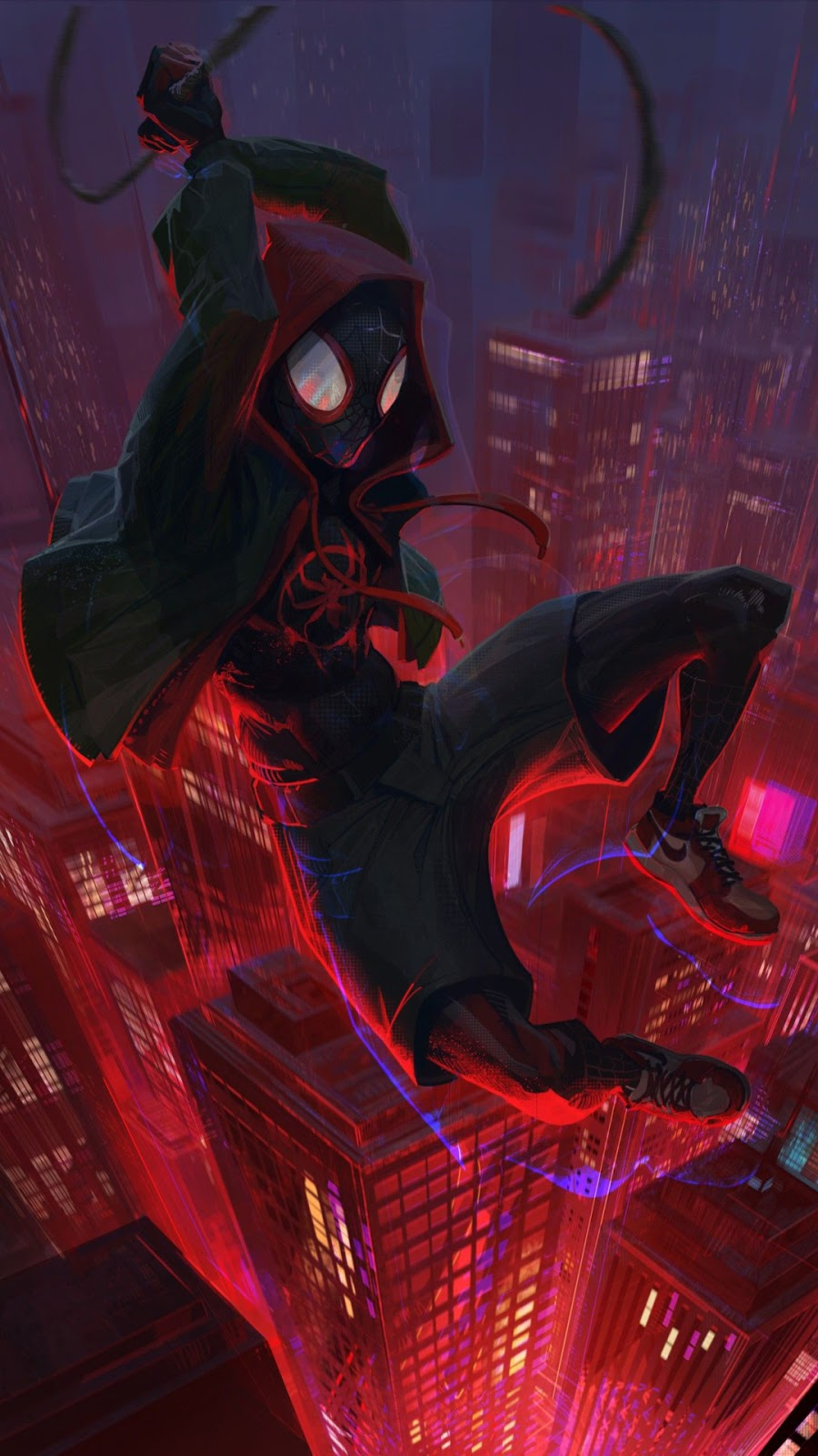 Miles Morales Fan Art Hd Wallpaper