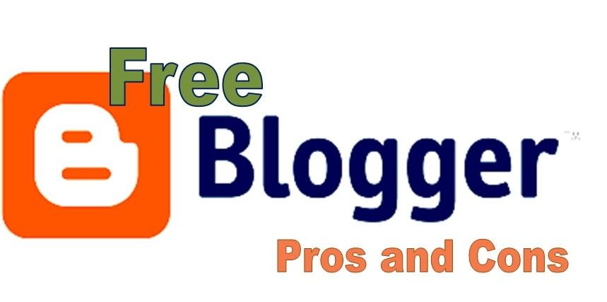 blogger.com advantages and disadvantages 2021