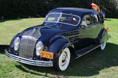 www.fertilmente.com.br - Chrysler/De Soto Airflow de 1934, moderno demais para o mercado
