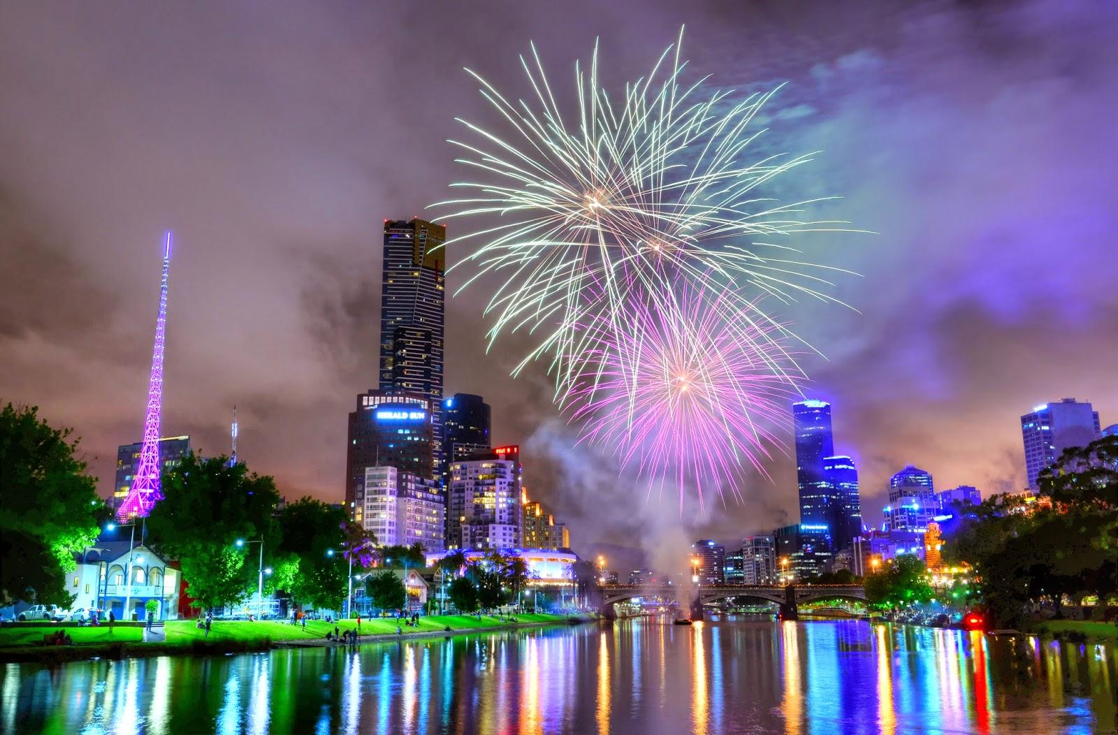 diwali night city image