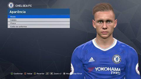 PES 2017 Colkett Face (Chelsea)