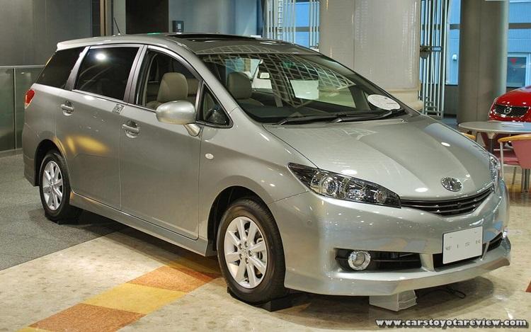 2018 Toyota Wish Exterior