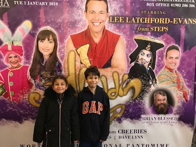 Aladdin pantomime at Worthing Pavilion theatre