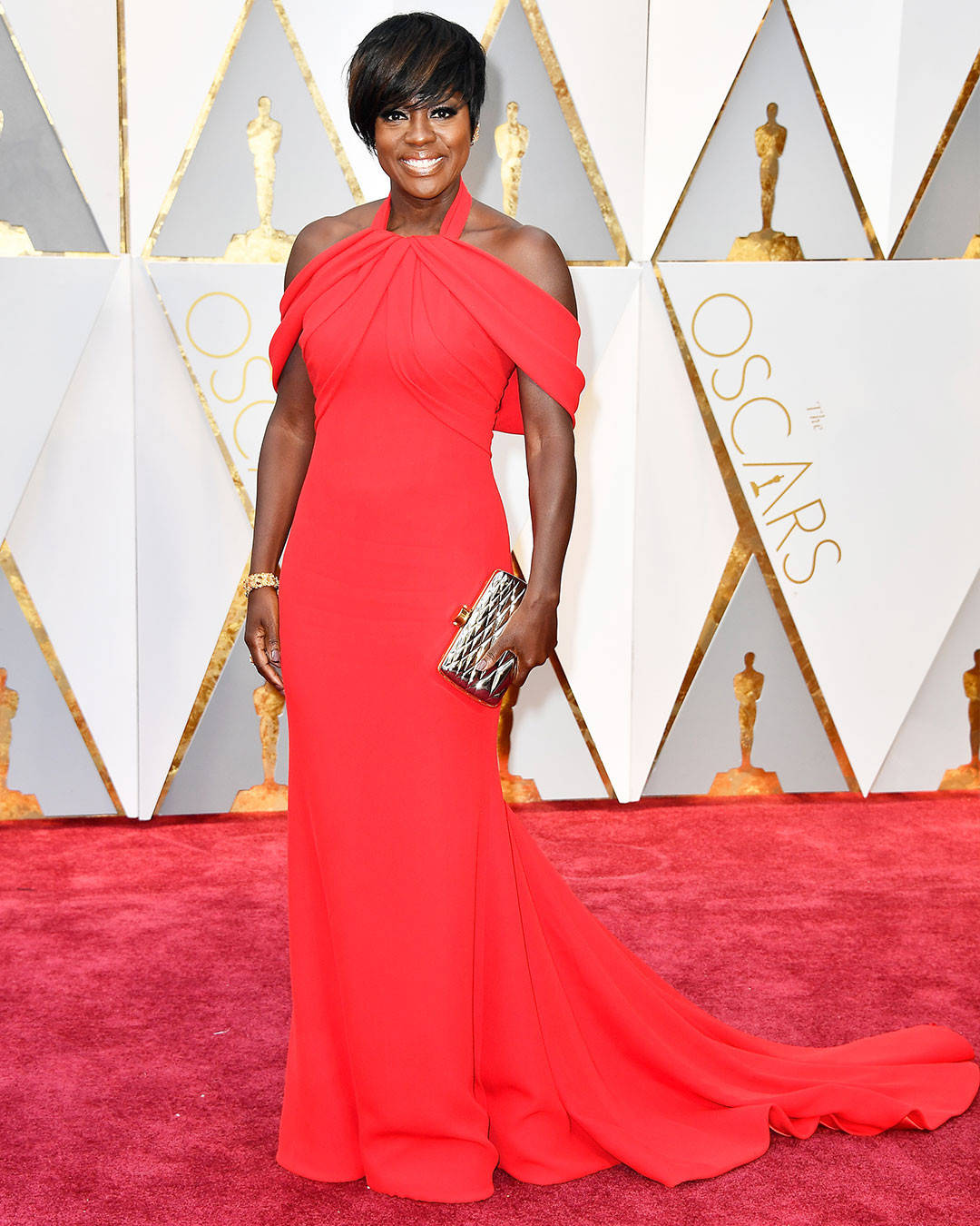 Viola Davis - Armani Privé Oscars 2017