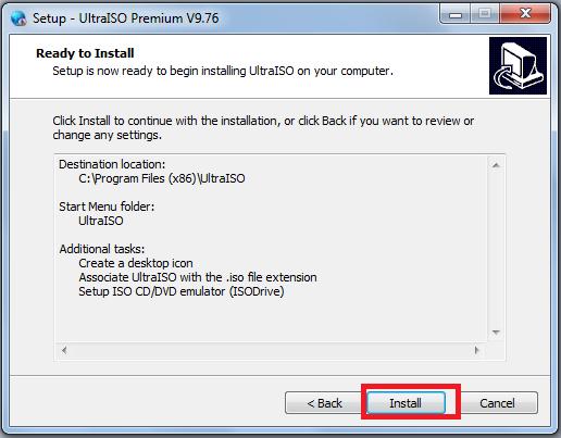 Hướng dẫn cài đặt UltraISO Premium 9.7.6 mới nhất d