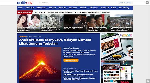 Detikcoy Template Blogger Premium XMLThemes
