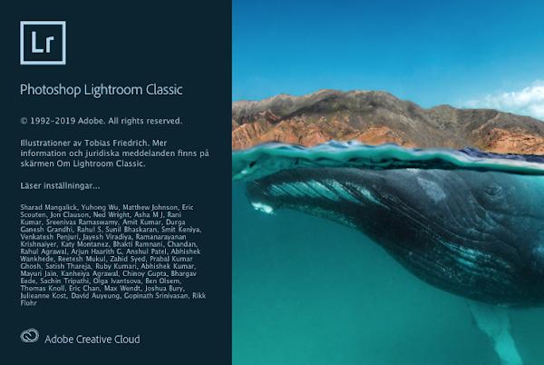 Lightroom Classic 2020 v9.0.0 cho macOS