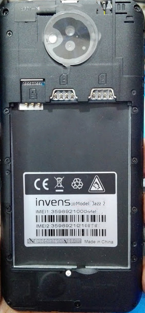 INVENS JAZZ 2 FLASH FILE FIRMWARE (STOCK ROM)