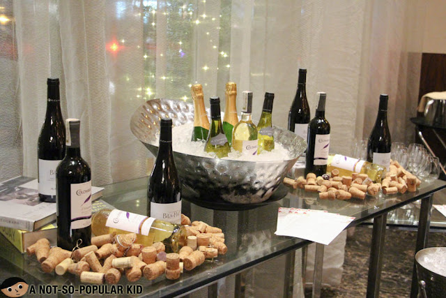 Champagne and Tapas Buffet of Makati Diamond Residences