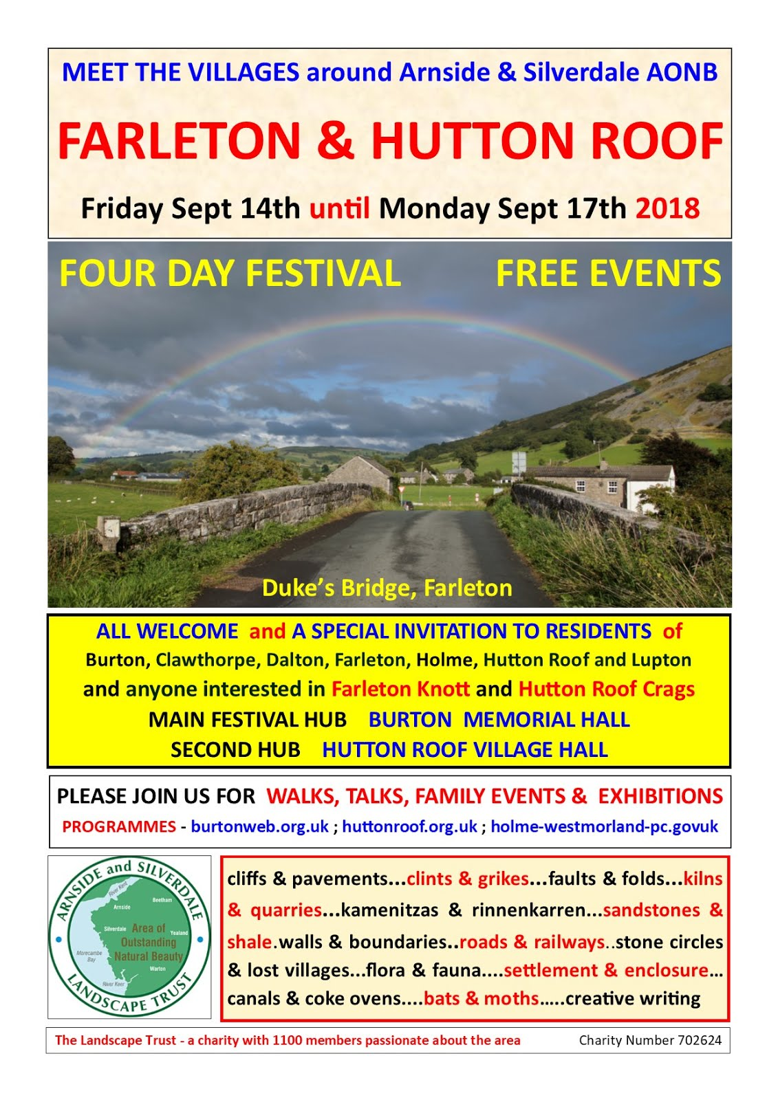 Farleton and Hutton Roof Festival