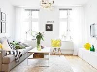 Weiße Wände Farblich Gestalten