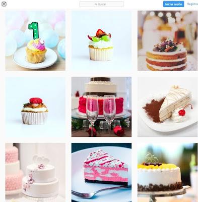 publicidad de una pasteleria