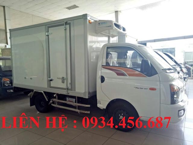Hyundai H150 đông lạnh 2021