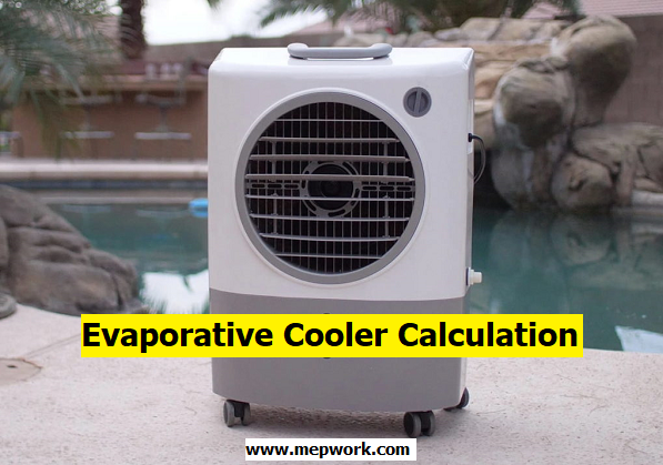 Download Evaporative Cooler Calculator Excel Sheet xls