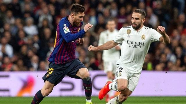 ريال مدريد وبرشلونه يودعان كأس اسبانيا في ليله واحده