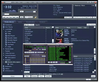winamp burn cds