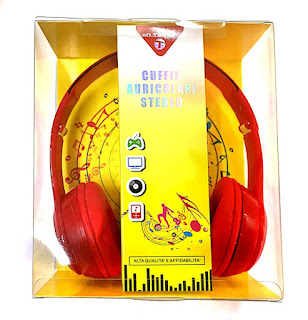 cuffie stereo microfono on tenck 33466