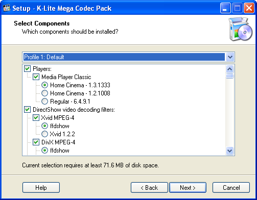 Free Download K-Lite Codec Pack