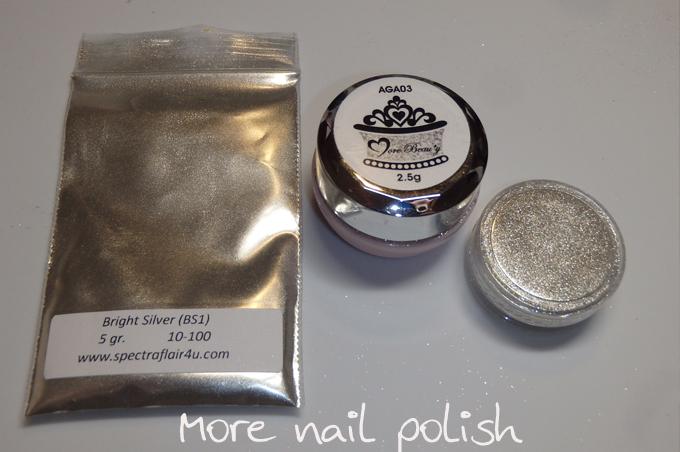 The Polish Chrome Wars Part 5 - Chrome Powder Comparison - Are all ...