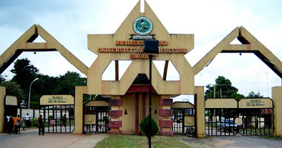 Michael Okpara university students protest against govt