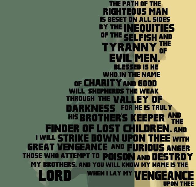 pulp fiction quotes Ezekiel