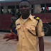 PHOTOS: LASTMA Official Stabbed With Bottle By Danfo Driver