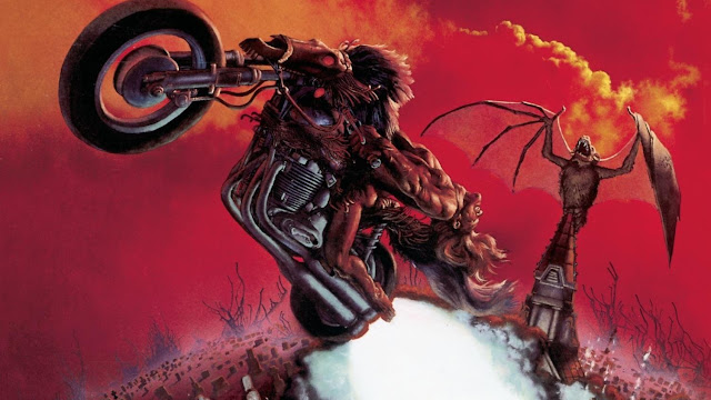 Meatloaf - Bat Out of Hell. Album Cover by Richard Corben