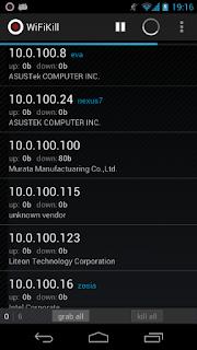 Cara memutus jaringan wifi orang lain lewat HP android