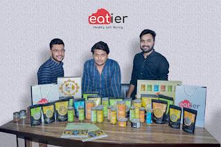 Bazar Plus- Eatier Foods भारत में सेहतमंद स्नैक्स खाने की मांग में बढ़ोत्तरी की वज़ह से अपने मार्केट साइज़ को तीन गुना तक बढ़ाएगा।Buy online at amazon- Eatier Roasted Makhana Pudina (भुने हुए पुदीना युक्त मखाने)
