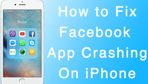 Facebook messenger app keeps crashing iphone