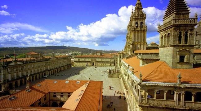 Tourismo in Santiago de Compostela