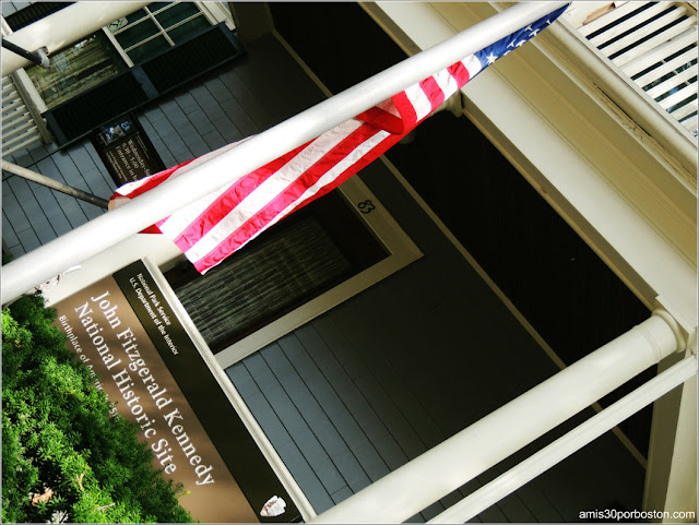 Exterior Casa de Nacimiento de Jonh F. Kennedy en Brookline 2016