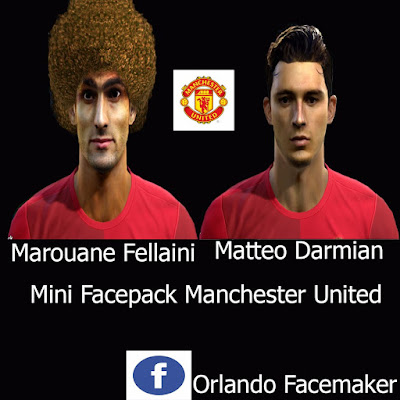 PES 2013 Mini Facepack Man United by Orlando FM