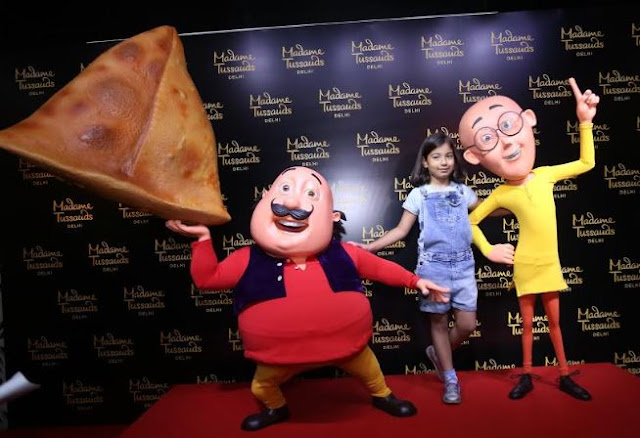 INDIA'S FAVOURITE MOTU PATLU'S MAKE IT TO MADAME TUSSAUDS DELHI