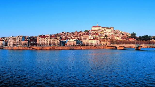 Verão em Coimbra - Rio Mondego