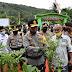 Kapolda Kalsel Kunjungi Kampung Tangguh Banua di Kabupaten Hulu Sungai Tengah