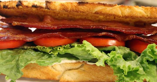 BLT with Roasted Garlic Aioli