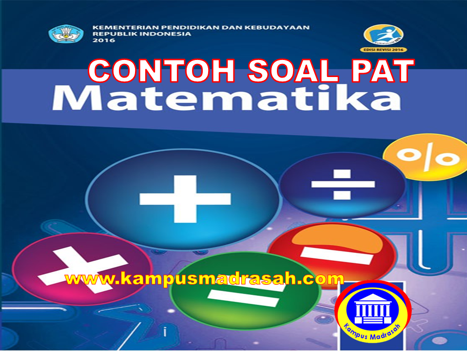 PAT Matematika Semester 2 Kelas 7 SMP/MTs
