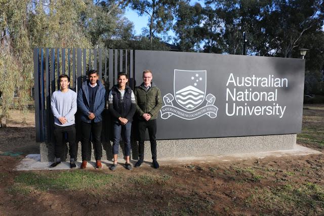 منح ماجستير لدراسة القانون في جامعة ANU في أستراليا
