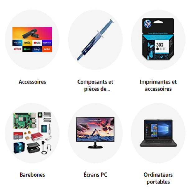 INFORMATIQUE : Amazon.fr - Achetez des tablettes, composants PC, et ordinateurs portables en ligne ✓ Grandes marques: MacBook, Asus, HP, Lenovo etc ✓ Livraison gratuite dès 25 €