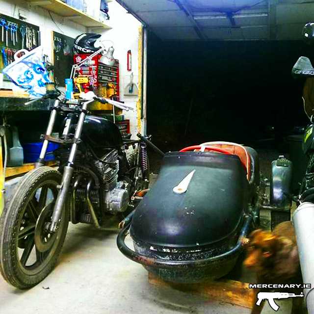 Mercenary Garage Sidecar
