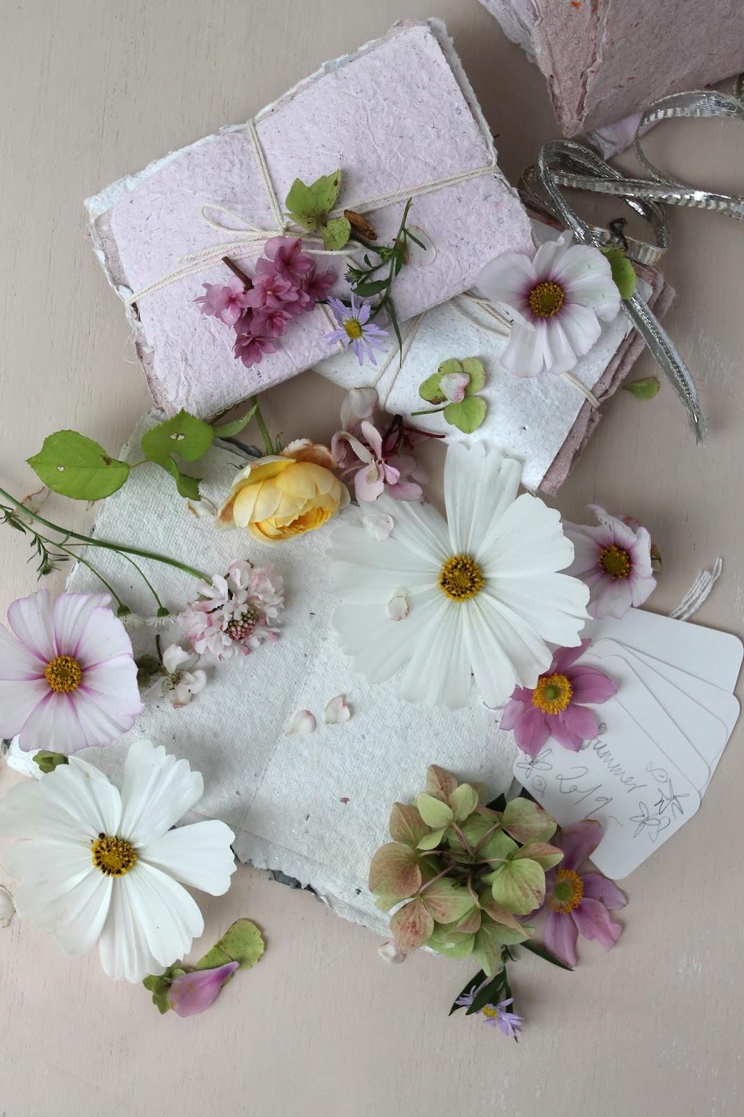 DIY  – Pressed flower books