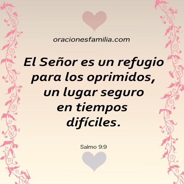 versiculo biblico para enfermos oprimidos angustiados cita biblica salmo 9