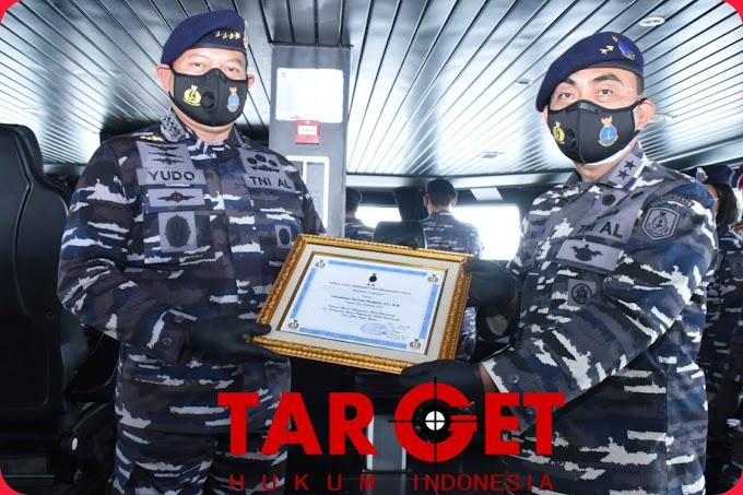 Kasal Laksamana TNI Yudo Margono Diangkat Sebagai Warga Kehormatan Hidros-Oseanografi